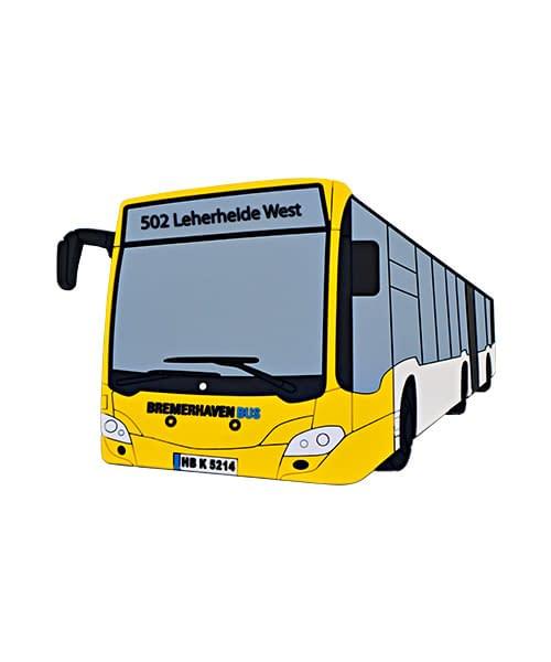 Weichgummi Magnet Bus Bremerhaven